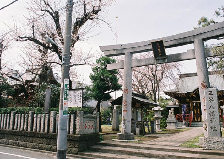 三谷八幡神社外観 アイキャッチ