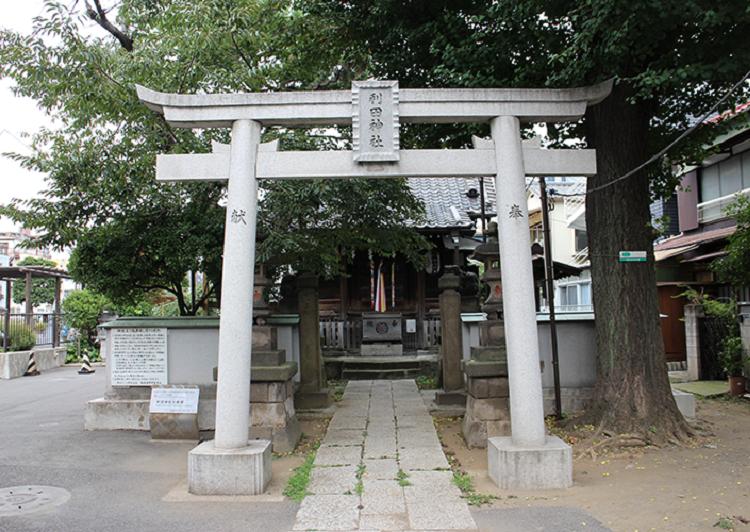 利田神社外観 アイキャッチ