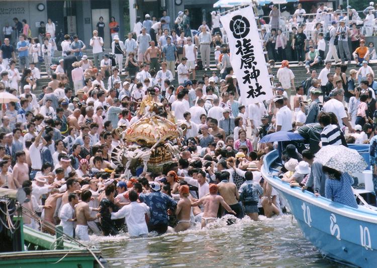 荏原神社神輿