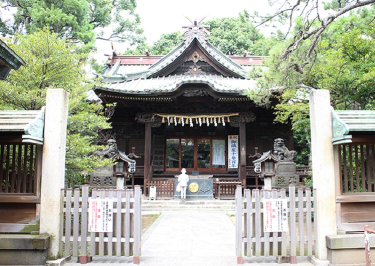 荏原神社外観アイキャッチ