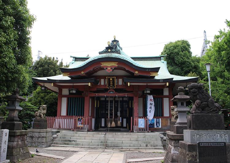 鮫洲八幡神社外観2 アイキャッチ