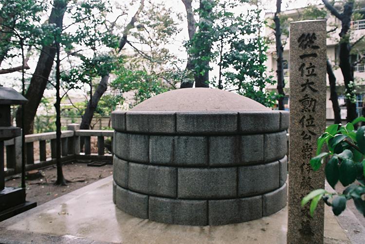 伊藤博文公墓所