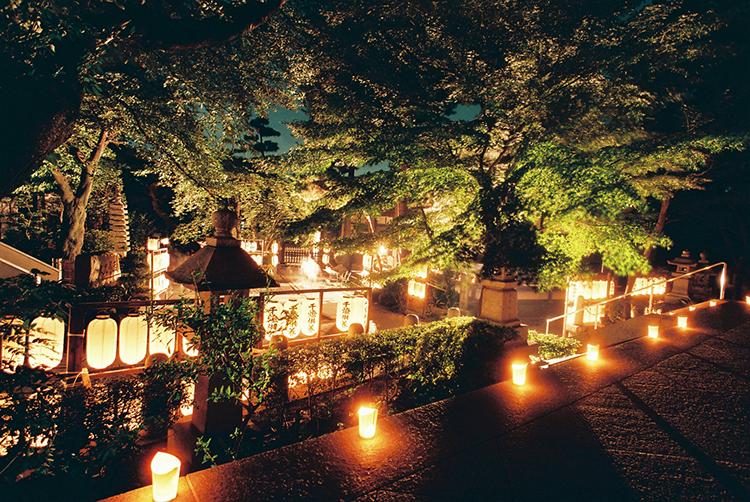 養玉院(如来寺)千灯供養