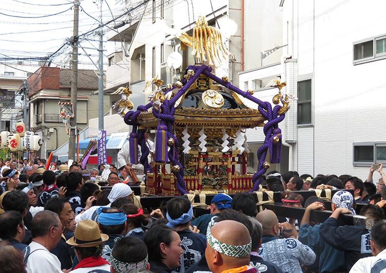 旗岡八幡神社神輿