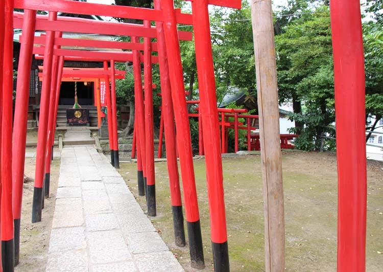 品川神社阿那稲荷神社