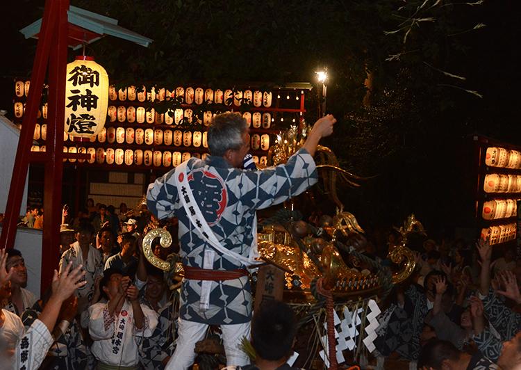 居木神社例大祭