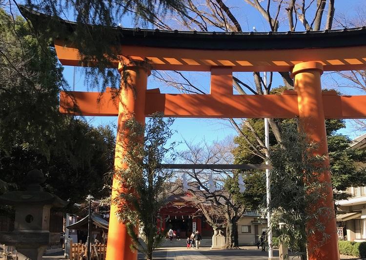 初詣 品川 戸越八幡神社
