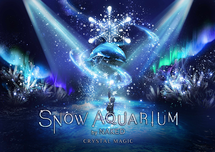 SNOW AQUARIUM by NAKED –CRYSTAL MAGIC