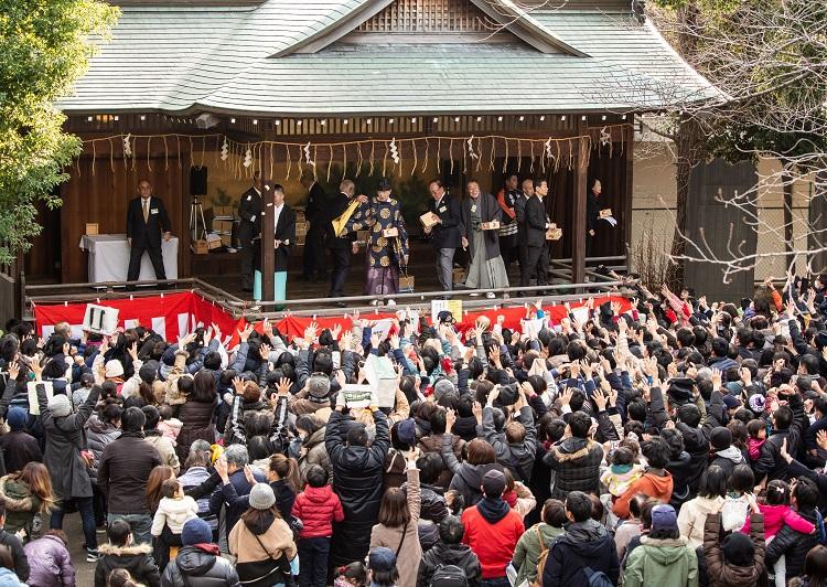 旗岡八幡神社節分祭2019