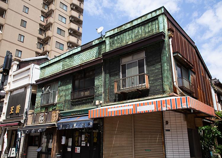 北馬場通りの看板建築