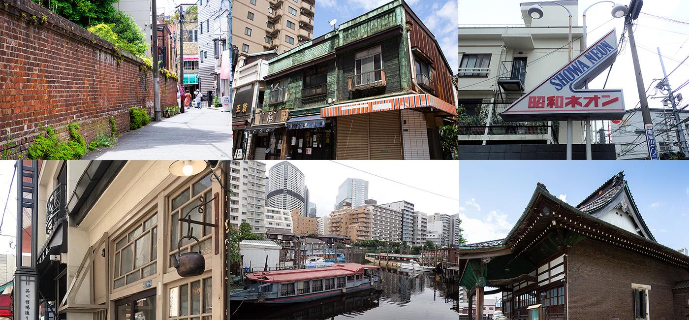旧東海道建築まち歩きバナー