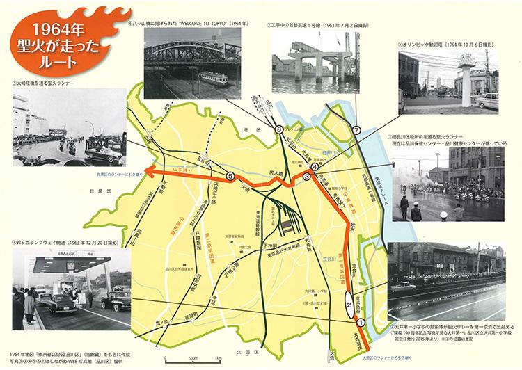 品川歴史館「品川を走るー東京オリンピック・パラリンピック1964,2020」