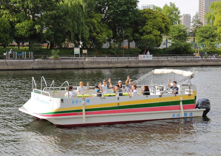 船清 平船 ドリーム号