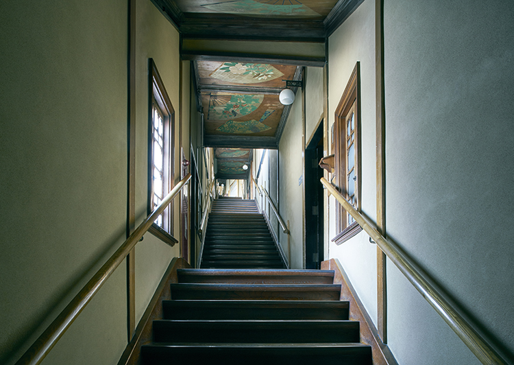 「百段階段」夏の見学会