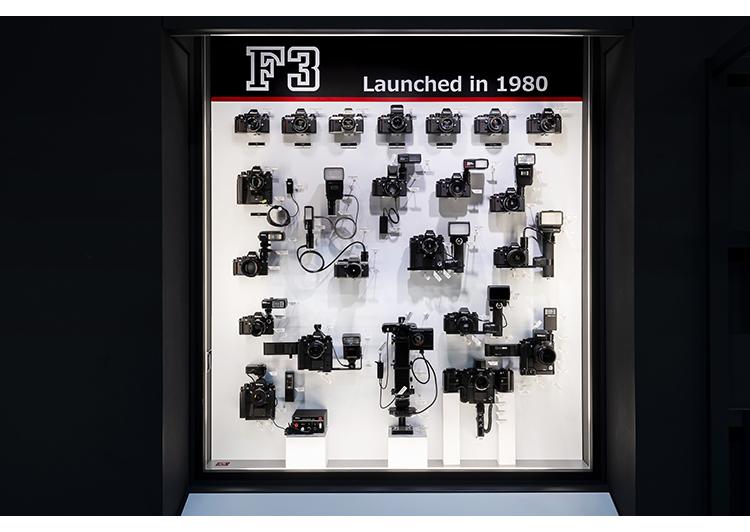 ニコンF3誕生40周年記念展示「システムカメラF3の魅力」