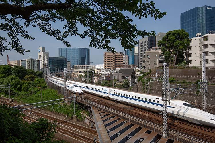 鉄道100景 権現山公園から観る新幹線