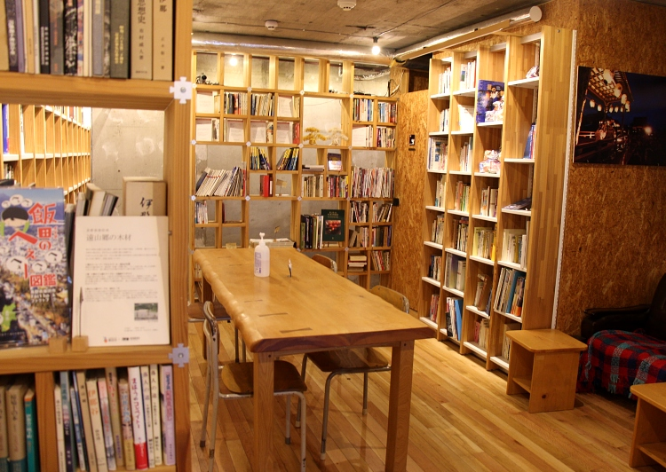 KAIDOBooks店内