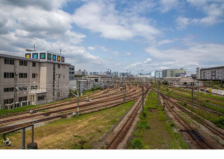 鉄道100景 貨物ターミナル