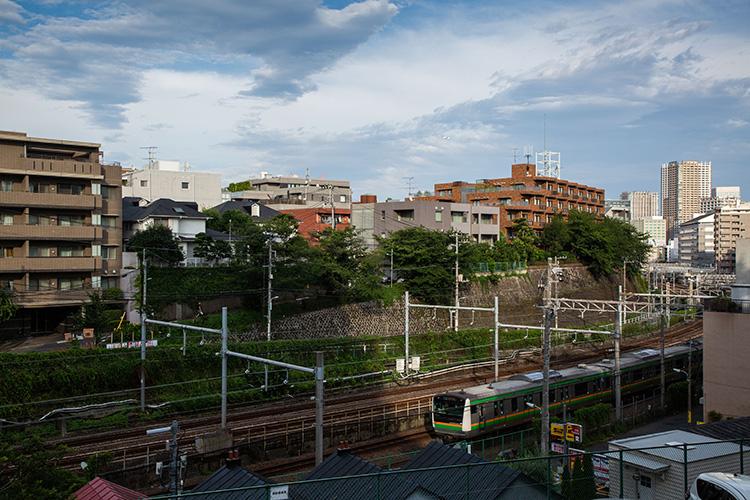 品川100景 花房山と湘南新宿ライン
