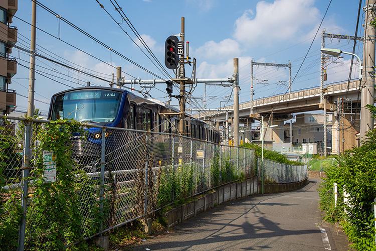 鉄道100景 大崎支線と相鉄線