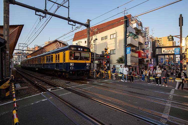 鉄道100景 戸越銀座駅