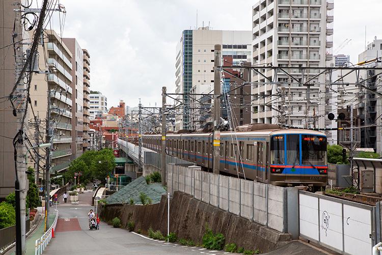 鉄道100景 亀の甲橋と目黒線